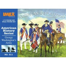 George Washingtons Army 1:72
