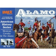 Mexican Cavalry at Alamo 1:72