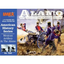 Mexican Artillery at Alamo 1:72