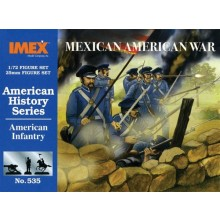Mexican American War 1840s US Infantry 1:72