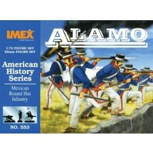 Mexican Round Hat Infantry 1:72