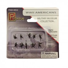WWII Americans 1:144