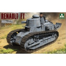 Renault FT French Light Tank 3 in 1 1:16