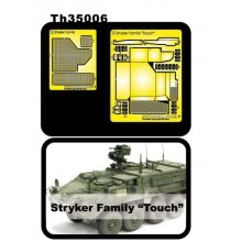 Stryker Family PE for Intake Guard Mesh & Exhaust Hood 1:35