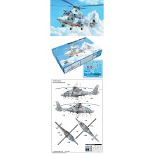 AS565 Panther Helicopter 1:35