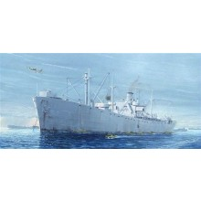 SS Jeremiah OBrien D-Day Liberty Ship 1:350