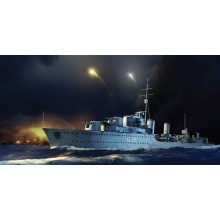 HMS Zulu Destroyer 1941 1:350