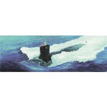 USS Sea Wolf SSN-21 Attack Submarine 1:144