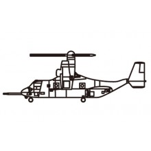 MV-22 Osprey (qty 3) 1:350