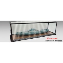 1/200 Warship 1.5m Display Case with LED Lighting