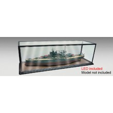 1/200 & 1/350 Warship 1m Display Case with LED Lighting
