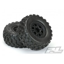 Proline BADLANDS MX SC 2.2/3.0 M2 Mounted BLK FR. IMPULSE Wheels