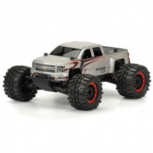 PROLINE CHEVY SILVERADO CLEAR BODY FOR PRO-MT