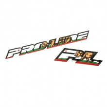 PROLINE CALIFORNIA PRIDE DECALS