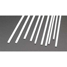 Plastruct 080 Inch x 187 Inch/ 2.0mm x 4.8mm styrene strip 10 pcs