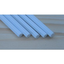 plastic Hexagon Rods 0.80mm x 250mm 10 pieces