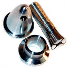 Prop. Adapter domed style to fit 4.00mm shaft