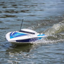 Proboat Sonicwake 36 Inch Self-Righting Brushless Deep-V RTR - White