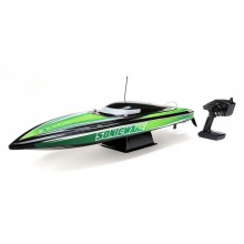 Proboat Sonicwake 36 Inch Self-Righting Brushless Deep-V RTR - Black - FOR PRE-ORDER ONLY