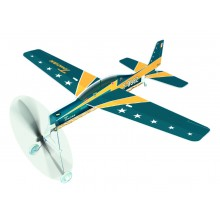 R5 - EMB-312 Rubber Band Powered Plane