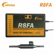 Corona - R8FA 8 Channel 2.4ghz FASST Compatible Receiver