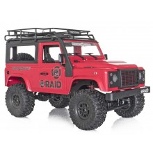 Funtek RAID Adventure 1 Hardtop 1/12th 4WD Off-Road RTR (Red)