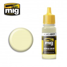 Ammo Mig Jimenez Acrylic 17ml Paint RAL 9001 CREMEWEISS