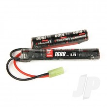NiMH 8.4V 1600mAh 2/3A Saddle-Stick, mTam