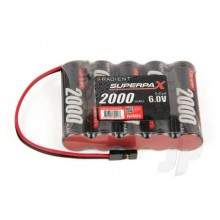 RADIENT SUPERMAX BATTERY. 2000MAH 6.0V