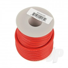 Silicone Wire 12ga 1062 Strand 25ft Red