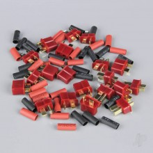 Deans Pairs including Heat Shrink (10pcs)