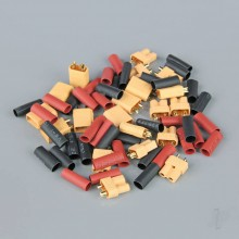 XT30 Pairs including Heat Shrink (10pcs)