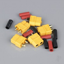 XT60 Female with Cap End (Battery End) (5pcs)