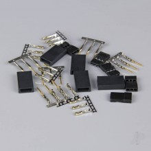 JR/Spektrum Connectors Pairs with Gold Pins (5pcs)
