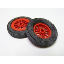 SMC 50mm 12 Spoke Red Wheels (Pair) (34)