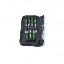 Rage Compact machined 7 piece tool kit with carry case