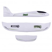 Streamer – hand launch free-flight glider (White)