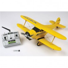 "Rage Beechcraft Model 17 Staggerwing ""Golden Age Series"" – Ultra Micro ready to fly aeroplane (51cm wingspan)"