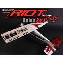 Max Thrust Pro-Build Balsa Riot Uncovered
