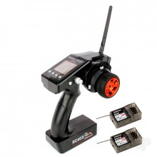 RadioLink RC4GS 2.4GHz 4-Channel Tx with 1x R6FG (Gyro Rx) and 1x R6F (Standard Rx)