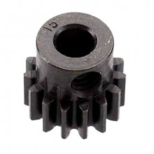 EXTRA HARD HIGH CARBON STEEL MOTOR PINION 5mm/32DP 15T