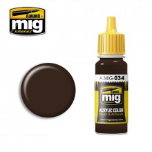 Ammo Mig Jimenez Acrylic 17ml Paint RUST TRACKS