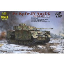Plastic Kit Border 1/35 scale Pz.kpfw.IV Ausf.G BT001