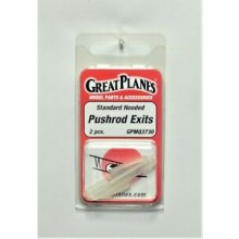Great Planes Hooded Pushrod Exits