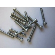 4BA Cheese Head Bolts - 1 inch (Pack of 10)