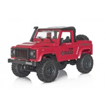 Funtek RAID Adventure 1 Open Top 1/12th 4WD Off-Road RTR (Red)