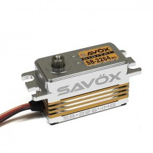 SAVOX HV DIGITAL BRUSHLESS LOWPROFILE SERVO 15KG/0.085s@7.4V