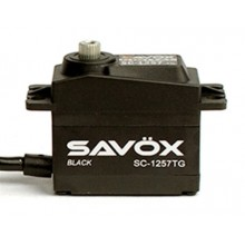 SAVOX HIGH TORQUE CORELESS DIGI SERVO 10KG@6.0V - BLACK