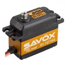 SAVOX HIGH VOLTAGE STD SIZE ULTRA FAST 25KG/0.08@7.4V