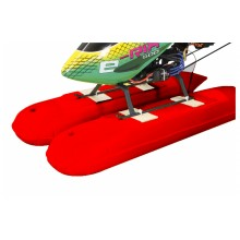 Jamara Helicopter Floats - Red